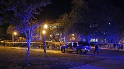 Three Florida State University students were shot and wounded inside the school's Strozier Library early Thursday morning by a gunman who was an alumni of the school and a lawyer, according to a law enforcement official.