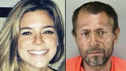 The parents of a California woman killed in a seemingly random shooting at a San Francisco pier said Friday they are focused on healing and not the fact the man accused of shooting her has been deported five times.