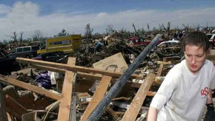 Monday's tornado killed at least  people, destroyed countless homes and reduced one elementary school almost entirely to rubble, killing seven children inside.