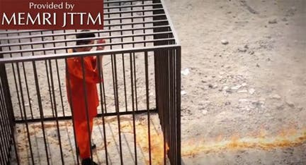 New ISIS video shows Jordanian pilot being burned alive