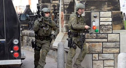 Canadian soldier, gunman killed in attack on Ottawa capital complex