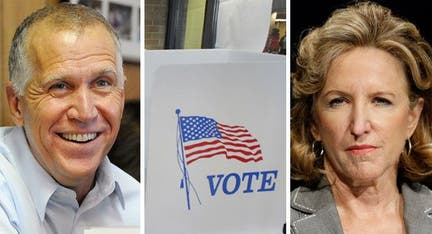 MIDTERMS 2014: Kansas Republican pounces on Biden claim independent rival 'will be with us'
