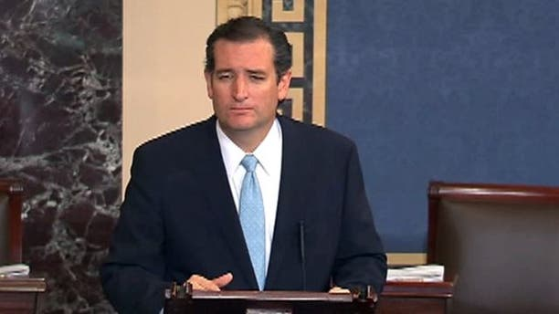 Cruz delivers all-night floor speech against ObamaCare as vote looms