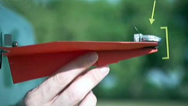 Can a paper plane turn into a drone?
