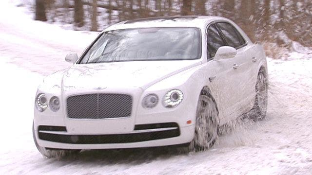 Test Drive 2014 Bentley Flying Spur Car And Truck Enthusiast