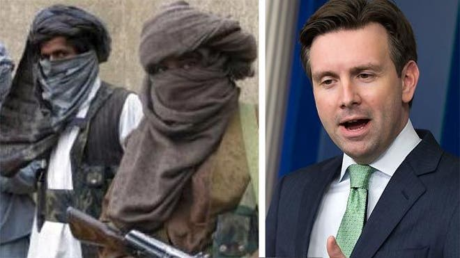 The White House once again Thursday agonized to draw a fine-tuned distinction between the Taliban and terror networks like Al Qaeda, even as Press Secretary Josh Earnest acknowledged that, technically, the Taliban are still on an official terrorist list.