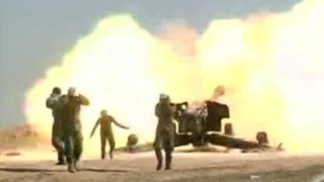 Iraqi forces backed by Shiite and Sunni fighters have begun an offensive to recapture the northern town of Tikrit from ISIS militants, state TV reported Monday.