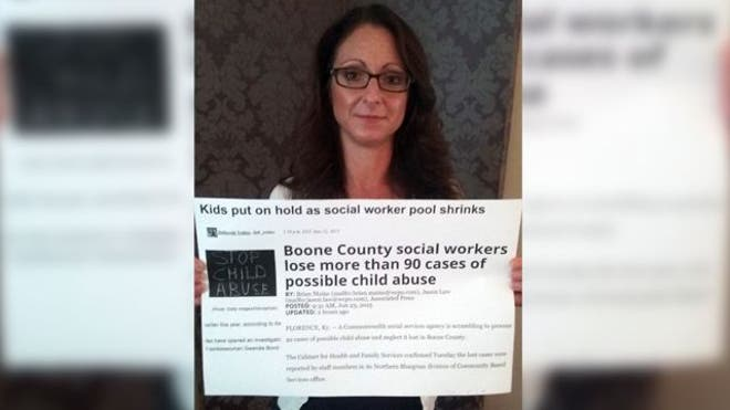 A Northern Kentucky social worker who visited a child among reports that she was being abused and neglected could now be in serious trouble, reported The Cou