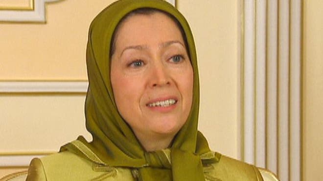 The leader of the Iranian opposition likens its goal to overthrow the regime in Tehran to the war for American independence from Britain, the struggle to abolish slavery in the U.S. and the birth of the civil rights movement in the 's.