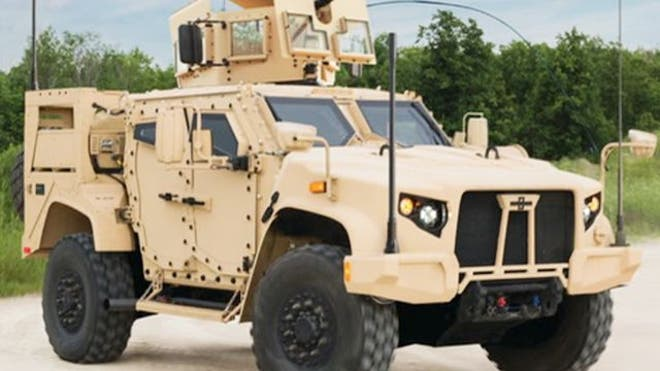 Move over Humvee, there's a new vehicle in town that combines the ballistic protection of a light tank with the off-road mobility of a Baja racer.