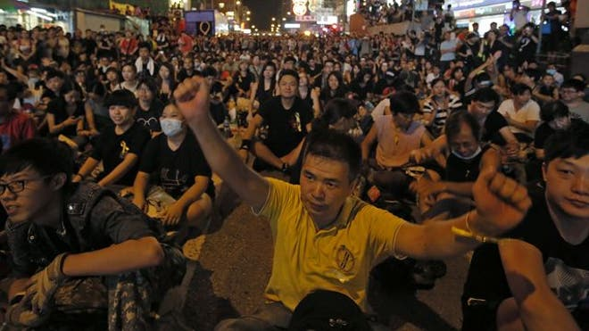 The standoff between pro-Democracy protestors and the Chinese government in Hong Kong is raising questions whether both sides can ever come to a long-term agreement.