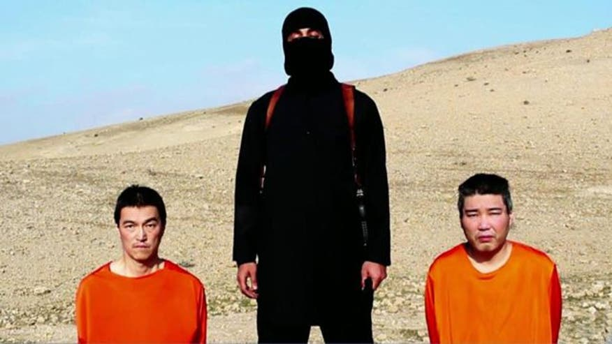 New ISIS Video Purportedly Shows Two Japanese Hostages