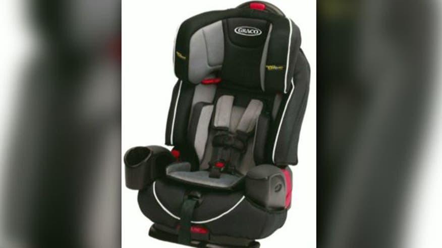 Graco Announces Recall Of 3.8 Million Child Car Seats