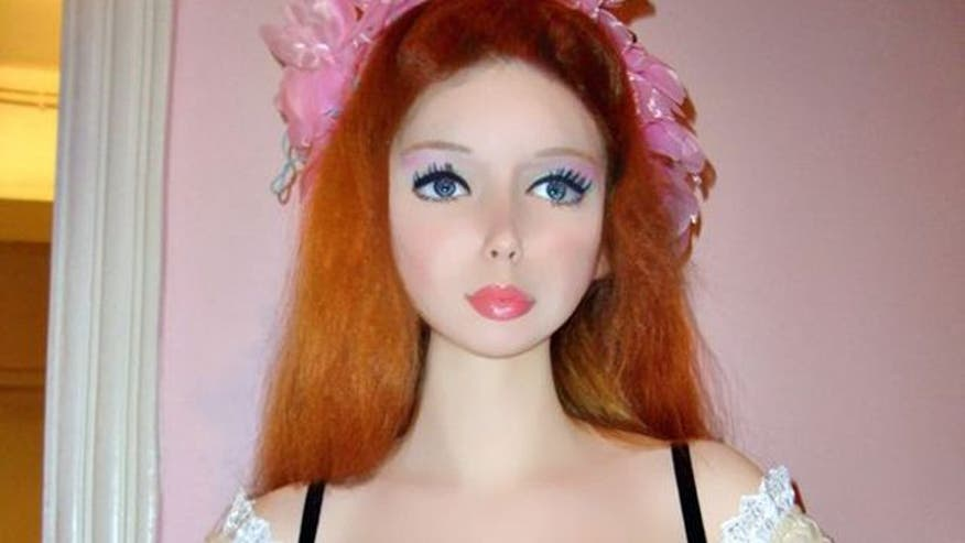 Lolita Richi: New Human Barbie Claims She Hasn't Had Plastic Surgery