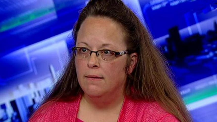 Kentucky clerk who refused marriage license is no longer a Democrat - VIDEO: Clerk opens up about her time in jail