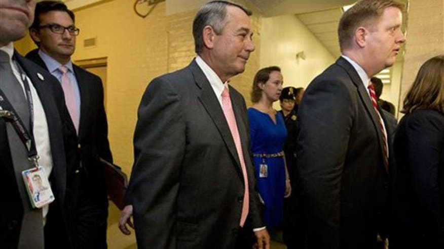 GAVEL BATTLE Boehner resignation sparks House leadership scramble