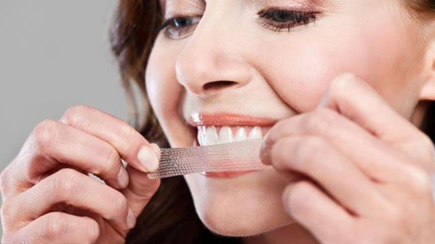 do at home whitening strips work