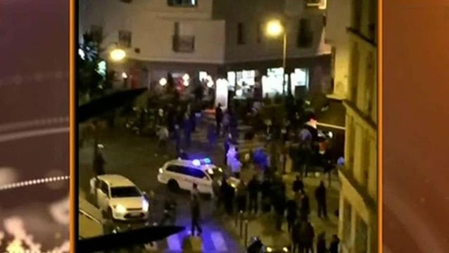 world french police report shootout explosion paris