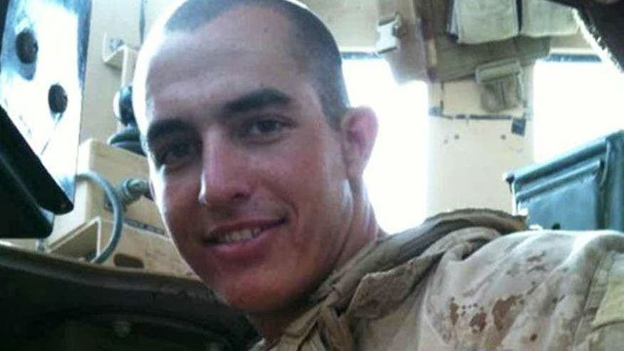 After 101 days in Mexican prison, Marine Sgt. Tahmooressi arrives for day in court