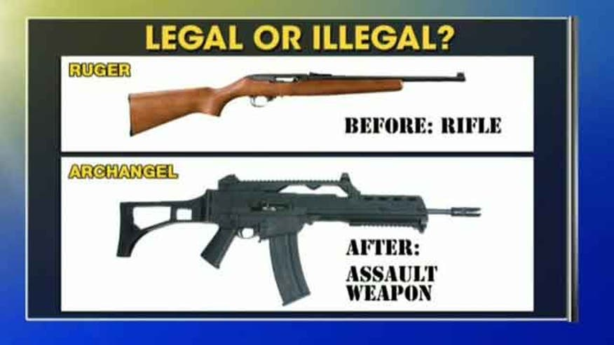 assault rifle ban weapon control essay