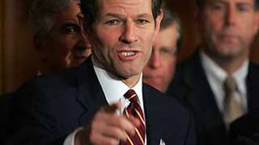 Former New York Gov. Eliot Spitzer (AP photo)
