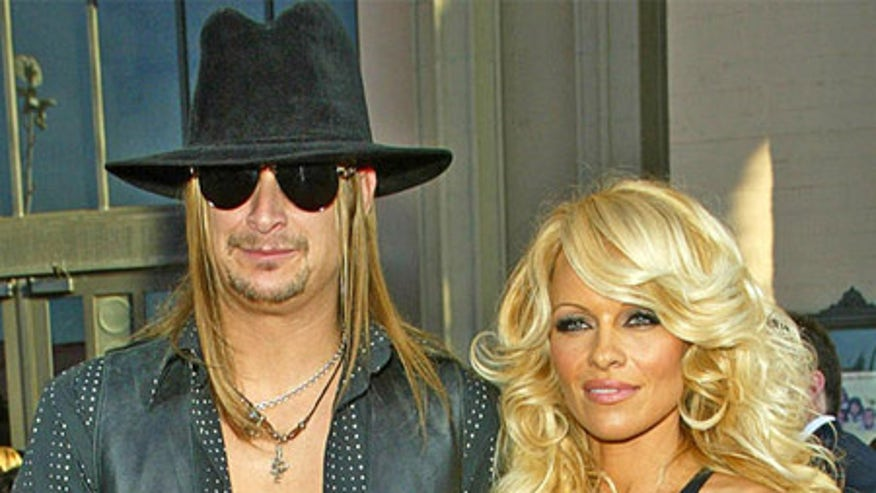 Pam Anderson and Kid Rock