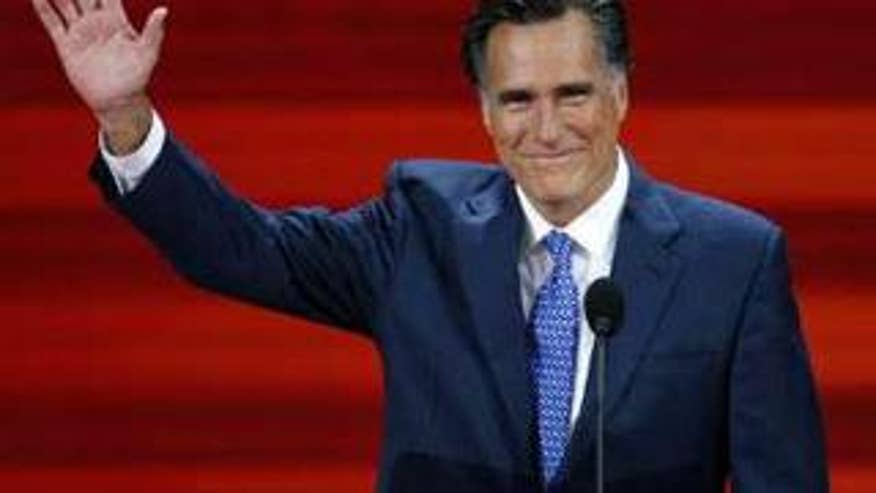 Former Massachusetts Gov. Mitt Romney, shown here at the GOP convention in St. Paul in September, is seen as a top contender in the 2012 race. (Reuters Photo)