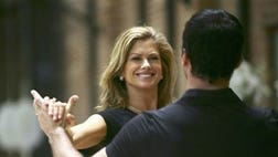 "On tonight's results show of ""Dancing With the Stars,"" Kathy Ireland, the former swimsuit model, was sent home"