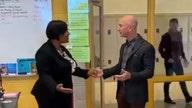 WATCH: Amazon CEO Jeff Bezos surprises high school students with visit