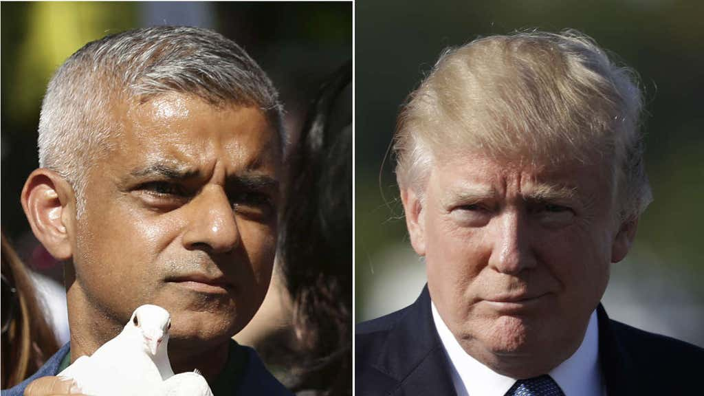London's Khan blasts Trump's Muslim ban, makes comparison to ISIS' rhetoric