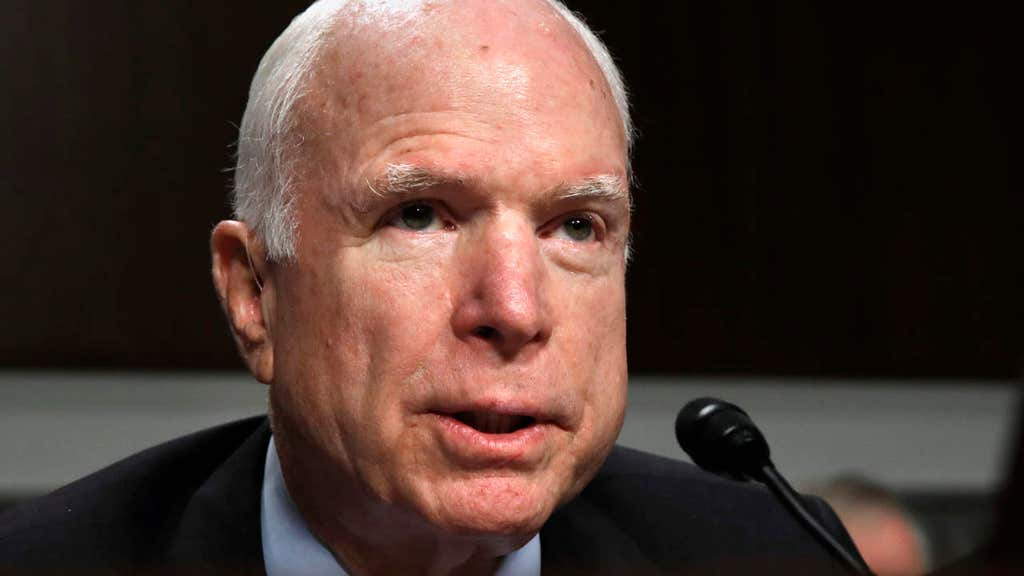 McCain recalls moment doctors told him he had aggressive form of cancer