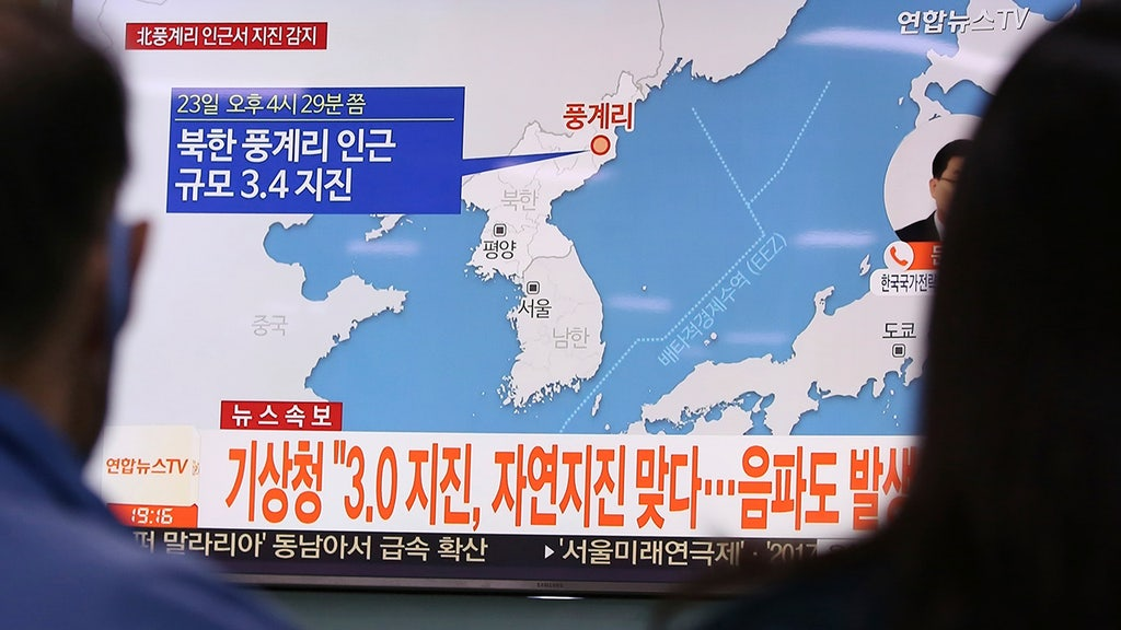 North Korea earthquake leads to conflicting reports about size, origin