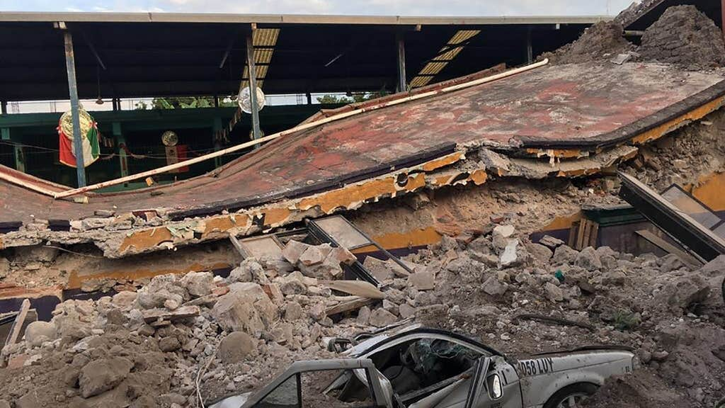 More than 100 dead after earthquake devastates Mexico