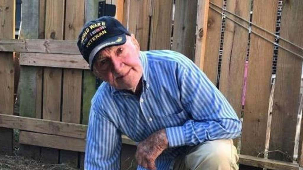 World War II vet, 97, takes a knee in solidarity with protesting NFL players