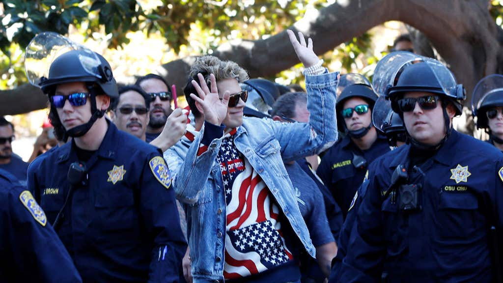 Milo at Berkeley 'the most expensive photo op in the university's history'