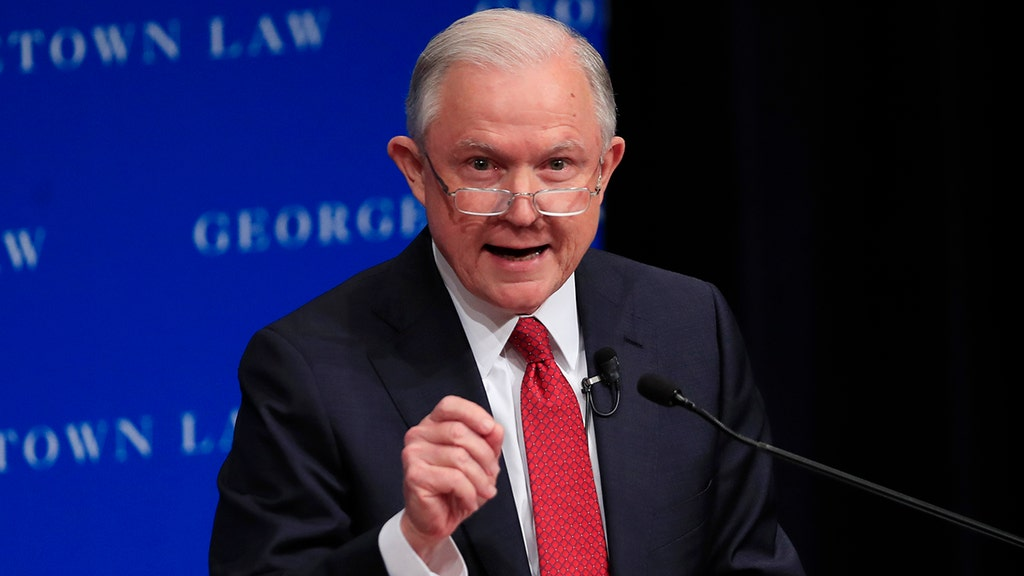 Sessions says DOJ will enter legal 'struggle' over free speech at universities