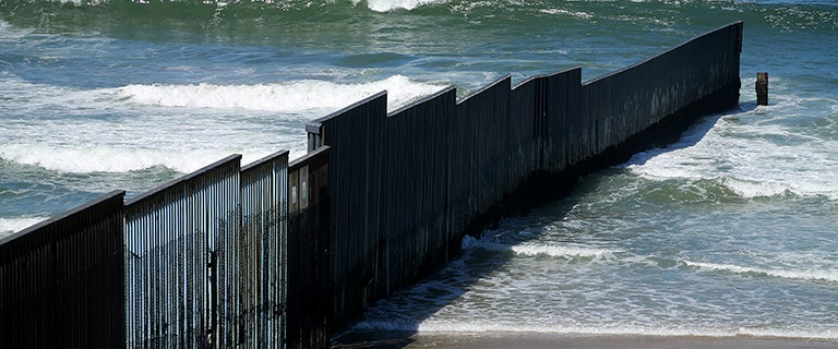 Golden State to sue administration to block construction of border wall
