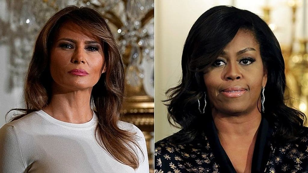 Which first lady's entourage cost taxpayers more?