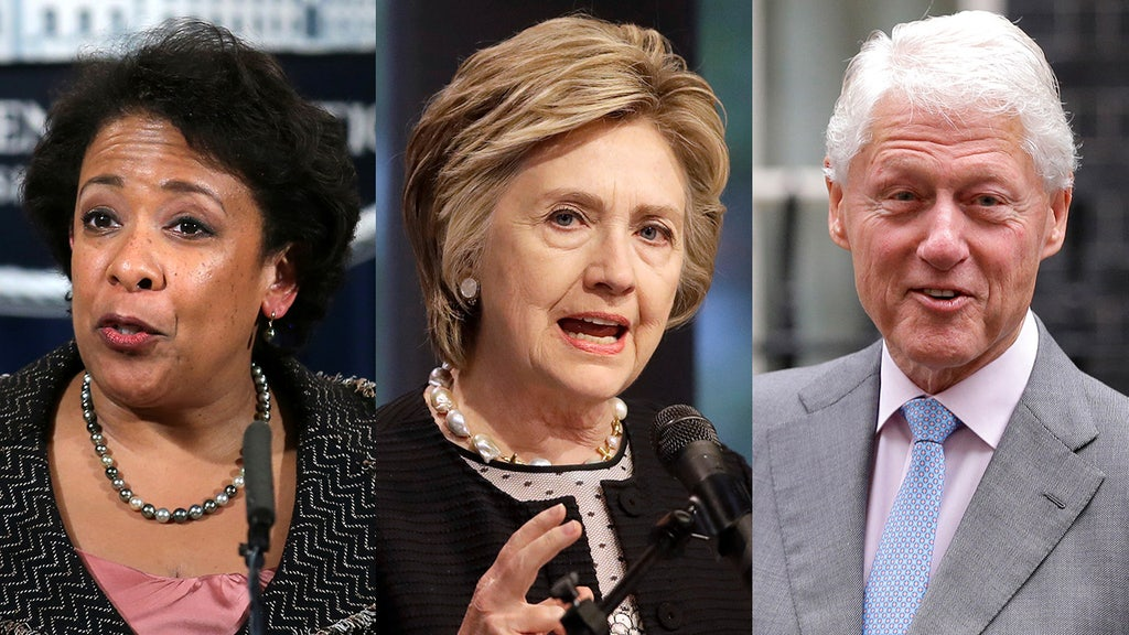 Gregg Jarrett: Lynch, the Clintons and a series of odd coincidences
