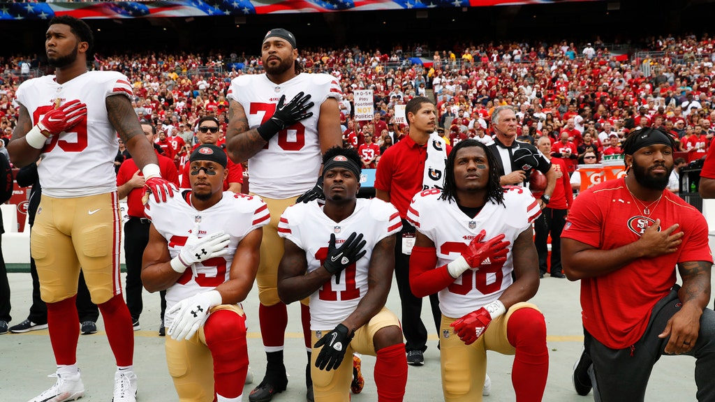 NFL, players reportedly never talked anthem policy despite growing tension
