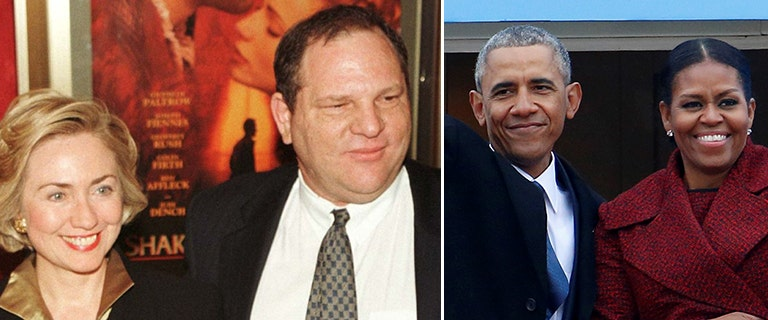 Alleged rapist, Hollywood mogul Weinstein's relationship with Clintons, Obamas runs deep
