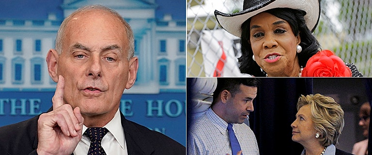 Outrage as Clinton attack dog leads media against Kelly for defending President Trump