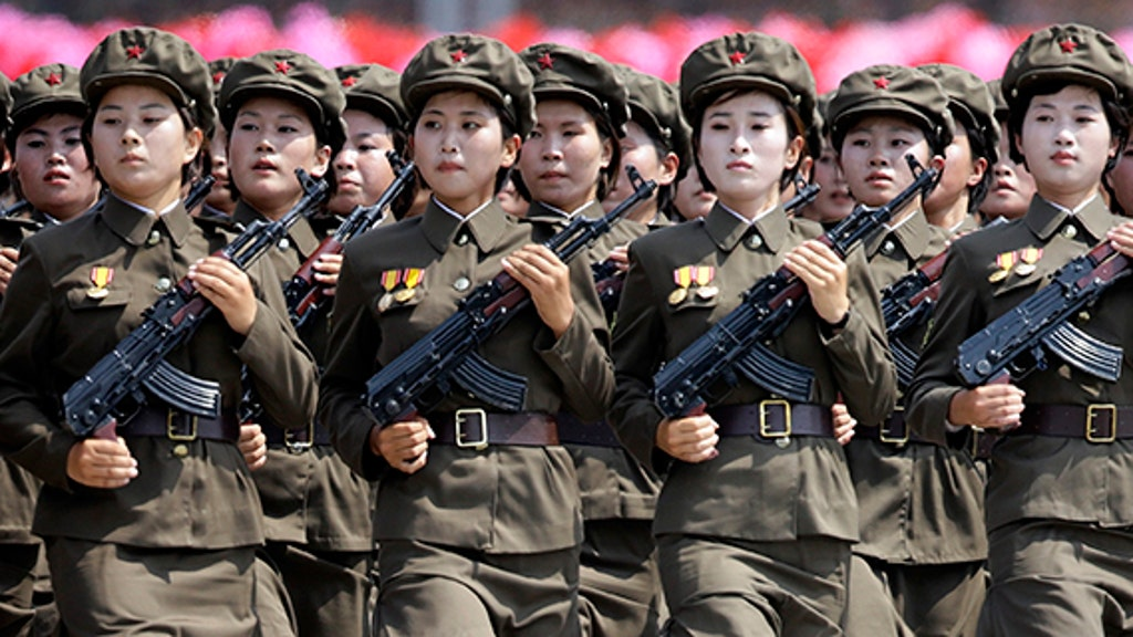 Women forced into N. Korea's military face rape and snakes in the shower