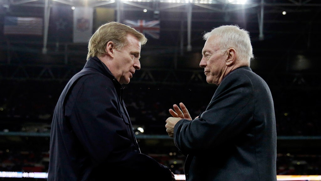 Jerry Jones vs. Roger Goodell: The battle for the NFL's soul