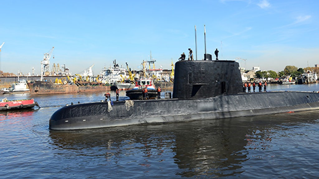Missing Argentinian submarine was chopped in half, rebuilt before explosion