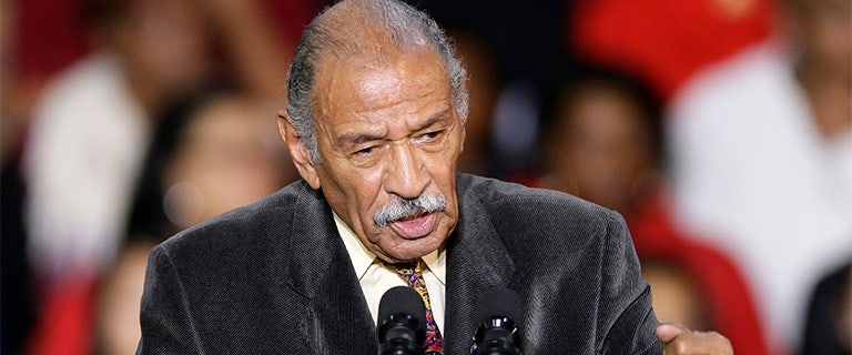 Former staffer: Embattled Rep. Conyers took meeting wearing only underwear