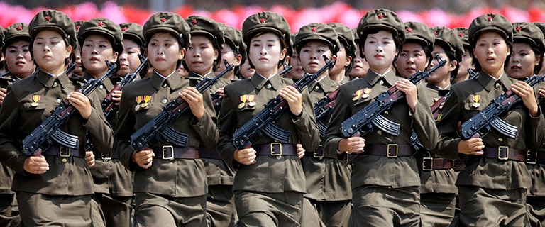 Women forced into North Korea's military face rape, starvation and snakes in the shower