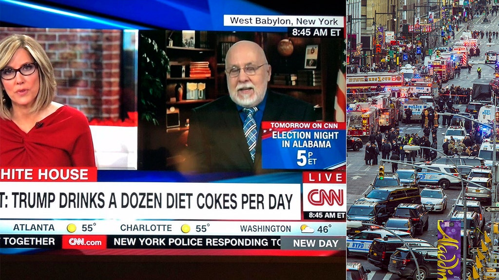 Network mocked for covering Trump's Diet Coke habit as terror attack unfolds
