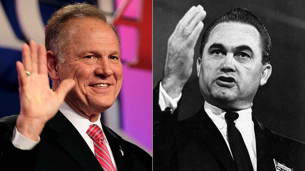 Roy Moore hits Doug Jones campaign for flyer linking him to segregationist George Wallace