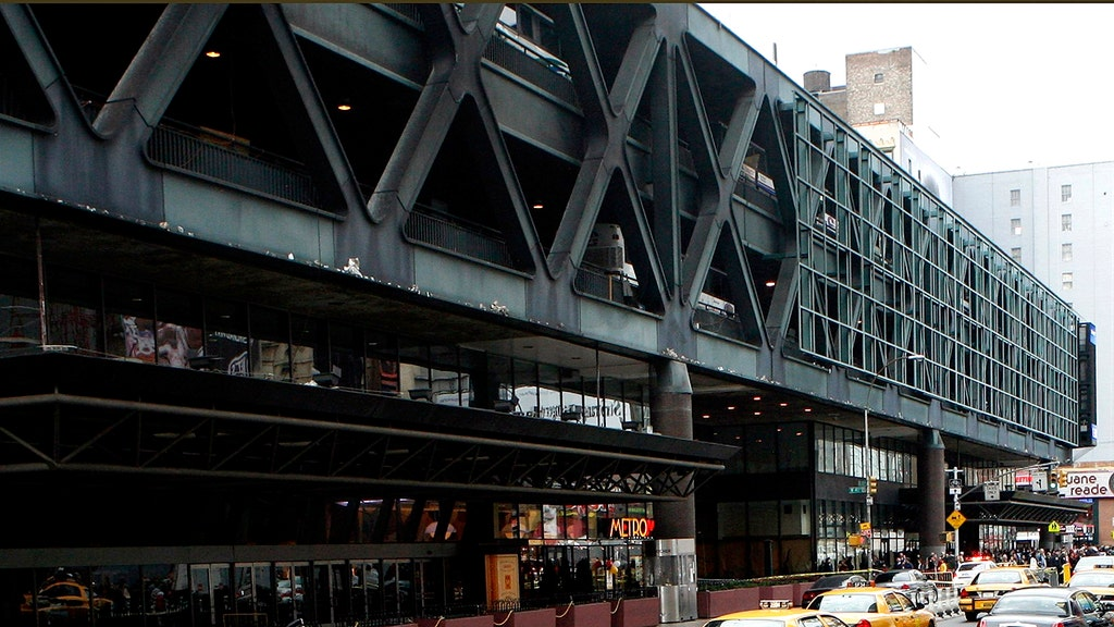 Police responding to reports of an explosion at NYC's Port Authority station